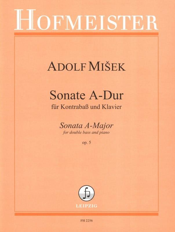 Sonate A-Dur op. 5 - Kontrabass Klavier - laflutedepan.com