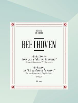 Variationen über La ci darem la mano -2 Oboen Englischhorn laflutedepan