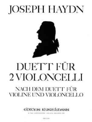 Duett HAYDN Partition Violoncelle - laflutedepan