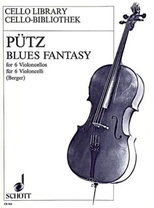 Blues fantasy - 6 Cellos Eduard Pütz Partition laflutedepan