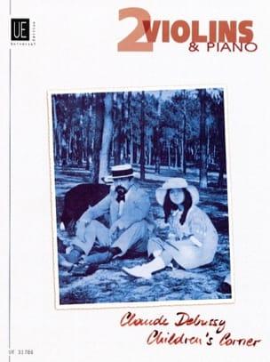 Children's Corner - 2 Violinen Klavier DEBUSSY Partition laflutedepan