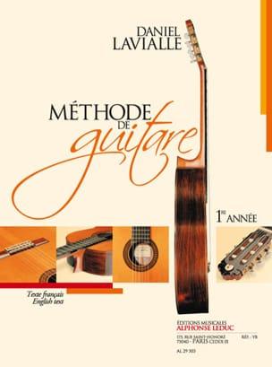 Méthode de guitare - 1° année Daniel Lavialle Partition laflutedepan