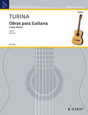 Obras Para Guitarra TURINA Partition Guitare - laflutedepan