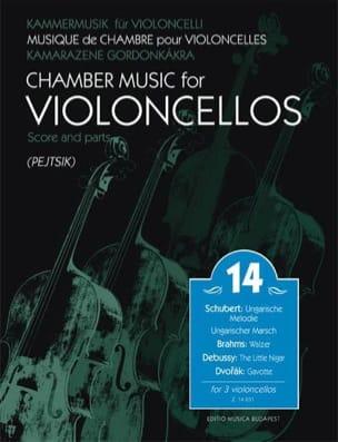 Musique de chambre pour violoncelles, vol 14 Partition laflutedepan
