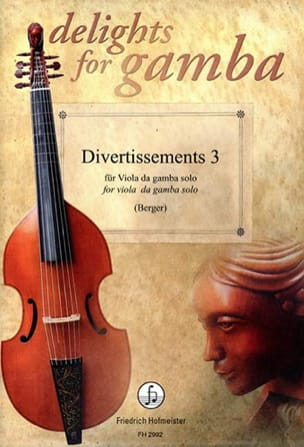 Divertissements 3 - Viole de Gambe solo Partition laflutedepan
