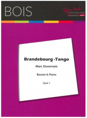 Brandebourg Tango Marc Duvernois Partition Basson - laflutedepan