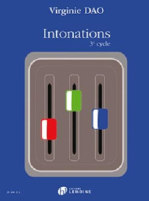 Virginie Dao - Intonazioni - 3o ciclo - Partition - di-arezzo.it