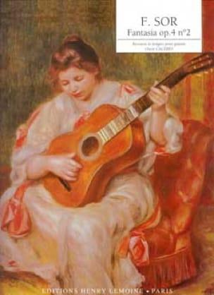 Fantasia op. 4 n° 2 - SOR - Partition - Guitare - laflutedepan.com