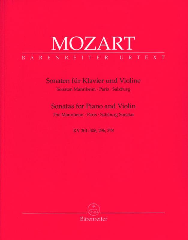 Sonates de Mannheim, Paris et Salzbourg - MOZART - laflutedepan.com