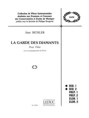 La garde des diamants Jean Sichler Partition laflutedepan
