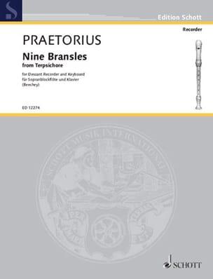 9 Bransles from Terpsichore Michael Praetorius Partition laflutedepan