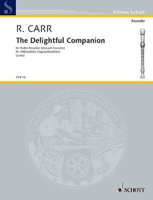 The Delightful Companion 1686 Robert Carr Partition laflutedepan