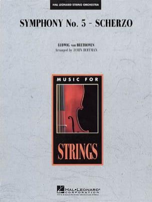 Symphony N° 5 Scherzo - score & parts BEETHOVEN Partition laflutedepan