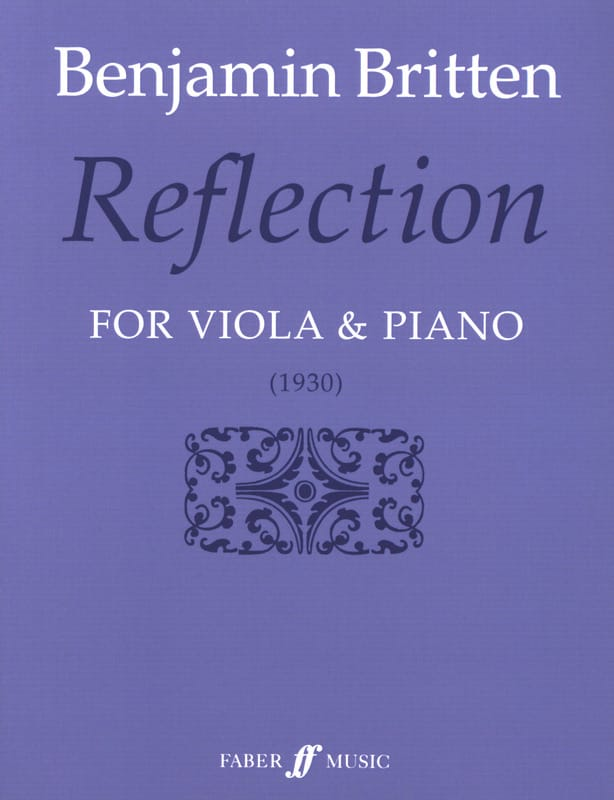 Reflection - BRITTEN - Partition - Alto - laflutedepan.com