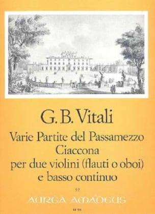 Varie Partite del Passamezzo op. 7/1 - Ciaccona op. 7/3 - laflutedepan.com