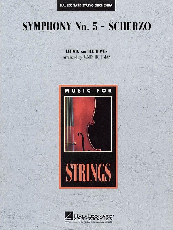 Symphony N° 5 Scherzo - score & parts - BEETHOVEN - laflutedepan.com