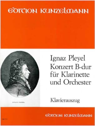 Konzert B-Dur - Klarinette Klavier - Ignaz Pleyel - laflutedepan.com