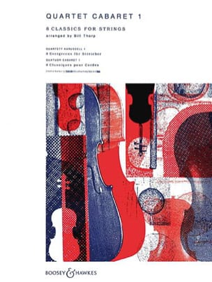 Quartet Cabaret, Volume 1 Bill Thorp Partition laflutedepan