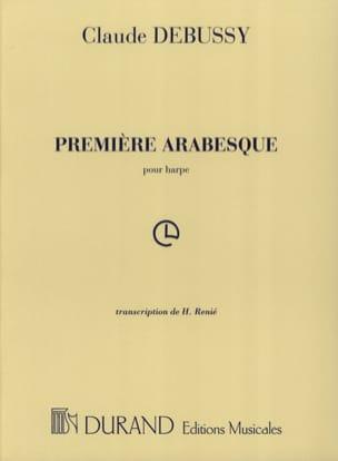 Arabesque N°1 Harpe DEBUSSY Partition Harpe - laflutedepan