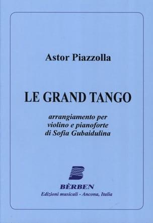 Le Grand Tango - Violon Astor Piazzolla Partition laflutedepan