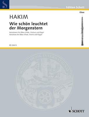Wie Schön Leuchtet der Morgenstern - Naji Hakim - laflutedepan.com