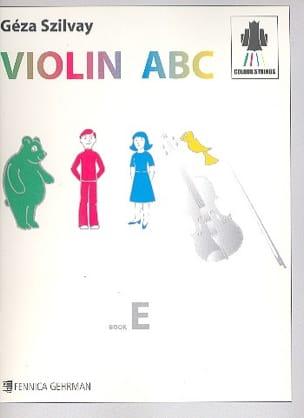 Violin Abc Book E Szilvay Geza Partition Violon - laflutedepan