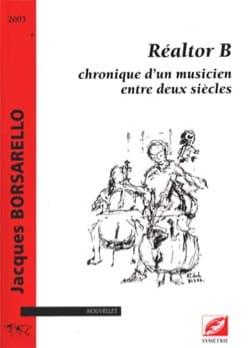 Réaltor B Jacques Borsarello Livre Formes de la musique - laflutedepan