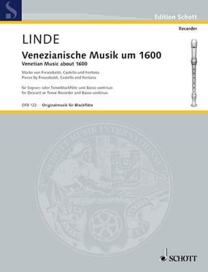 Venezianische Musik um 1600 -Sopran-oder Tenorblockflöte u. Bc laflutedepan