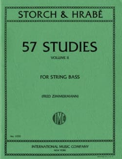 57 Studies, Volume 2 - String bass laflutedepan