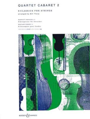 Quartet Cabaret, Volume 2 Bill Thorp Partition laflutedepan