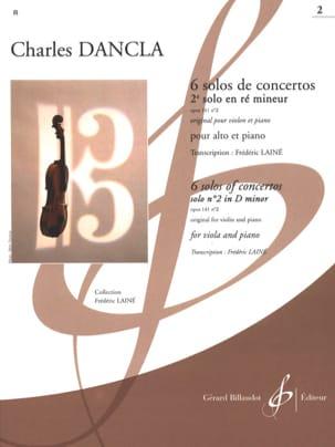 2e Solo de concerto op. 141 n° 2 en ré mineur -Alto laflutedepan