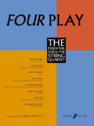 Four Play - String quartet - Carlo Martelli - laflutedepan.com