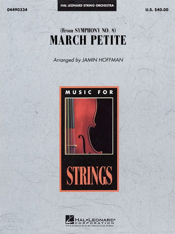 March Petite from Symphony N° 8 - score & parts - laflutedepan.com