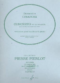 Concerto en sib majeur pour hautbois CIMAROSA Partition laflutedepan