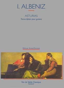Asturias Dumond -Guitare ALBENIZ Partition Guitare - laflutedepan