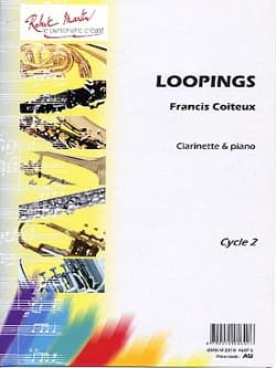 Loopings Francis Coiteux Partition Clarinette - laflutedepan