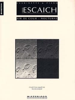 Air de Cour - Nocturne Thierry Escaich Partition laflutedepan