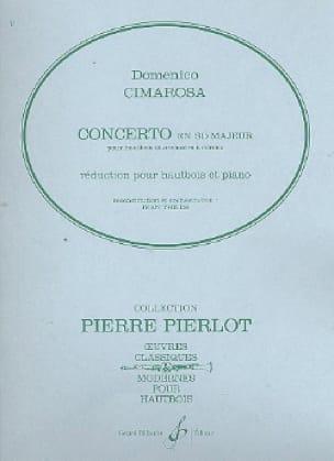 Concerto en sib majeur pour hautbois - CIMAROSA - laflutedepan.com