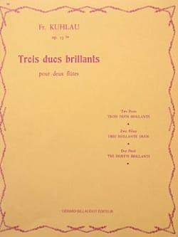 3 Duos brillants op. 13bis - 2 Flûtes Friedrich Kuhlau laflutedepan