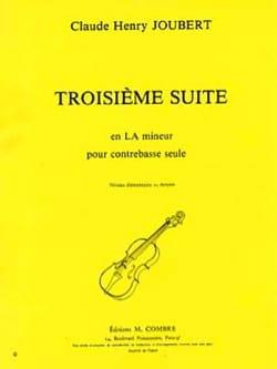 Suite n° 3 en la mineur Claude-Henry Joubert Partition laflutedepan