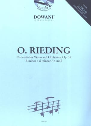 Concerto pour Violon Op. 35 en si mineur Oskar Rieding laflutedepan