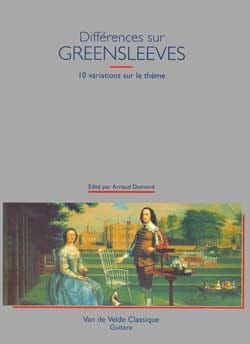 Différences sur Greensleeves Arnaud Dumond Partition laflutedepan