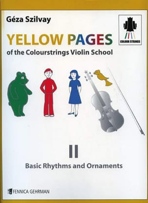 Yellow Pages Of The Colourstrings Violin School Book 2 laflutedepan