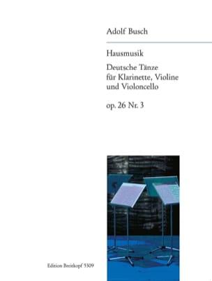 Deutsche Tänze, op. 26 n° 3 - Clarinette, violon et violoncelle laflutedepan