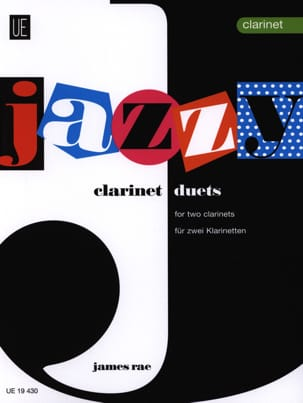 Jazzy Duets - 2 Clarinets James Rae Partition laflutedepan