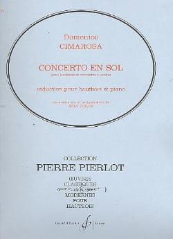 Concerto en sol majeur pour hautbois CIMAROSA Partition laflutedepan