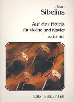 Auf der Heide op. 115 n° 1 SIBELIUS Partition Violon - laflutedepan