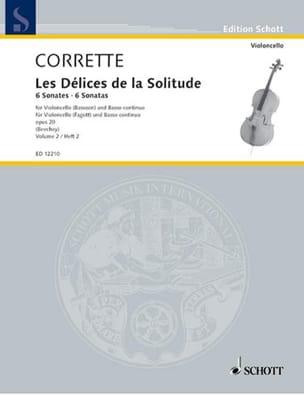 6 Sonates Op.20 Vol.2 CORRETTE Partition Violoncelle - laflutedepan