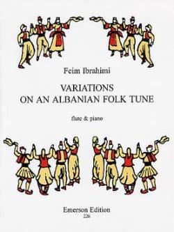 Variations On An Albanian Folk Tune Feim Ibrahimi laflutedepan