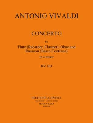 Concerto en sol min. - F. 12 n° 4 - Flute/Oboe/Bassoon laflutedepan